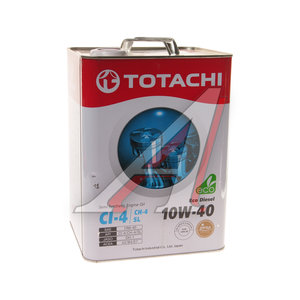 Масло дизельное ECO DIESEL п/синт.6л TOTACHI TOTACHI SAE10W-40