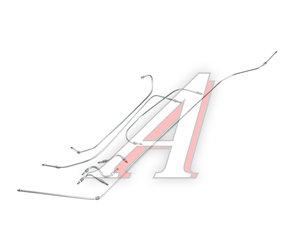 Трубка топливная ЗИЛ-130 комплект 7шт. 130-1104050/20/*
