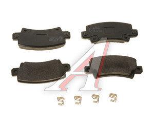 Колодки тормозные TOYOTA Corolla (02-) задние (4шт.) NIPPARTS J3612025, GDB3289, 04466-02160/04466-02070/04466-02020