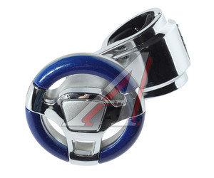 Ручка на руль синий/хром Feel TORINO 2622, HJ-773B