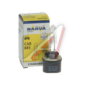 Лампа 12V H27W/1 50W PG13 NARVA 48055, N-48055
