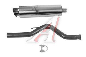 Глушитель ВАЗ-2108-09 нержавеющая сталь Street PRO SPORT RS-00011, 2108-1201005