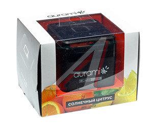 Ароматизатор на панель приборов гелевый (солнечный цитрус) 100г Black Label AURAMI BL-02,