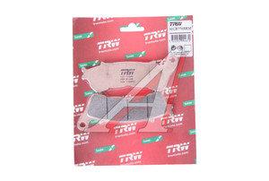 Колодки тормозные мото HONDA VFR1200 (12-) SUZUKI VLR1800C/R Intruder (08-) передние (2шт.) TRW MCB776SRM