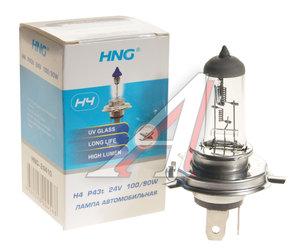 Лампа H4 24V 100/90W P43t-38 HNG H4 АКГ 24-100+90-1 (H4), HNG-24410