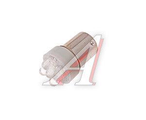 Лампа светодиодная 12V R10W BA15s 5 светодиодов белая МАЯК 12T15-W/5LED, А12-10