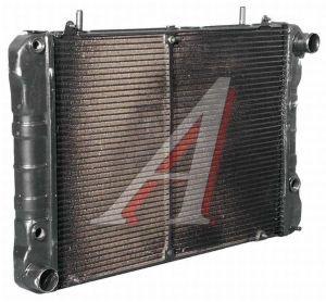 Радиатор ГАЗ-2217,33021 медный 2-х рядный Н/О (датчик) ЛРЗ 330242-1301010, 112.1301010-01