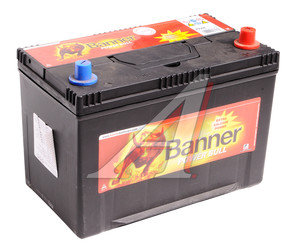 Аккумулятор BANNER Power Bull 95А/ч обратная полярность 6СТ95 P95 04, 84106
