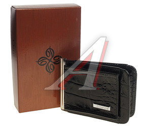 Зажим для денег кожа черный DIMANCHE 52056\1, 385\1