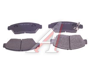 Колодки тормозные HONDA Civic (99-) передние (4шт.) HSB HP5039, GDB3375, 45022-S5A-E50