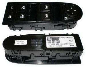 Блок управления ВАЗ-1118 двери водителя ИТЭЛМА 1118-3763080, 11180-3763080-00