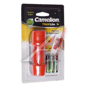 Фонарь 1 светодиод (пластик) красный 3хR03, в блистере CAMELION HP7011-3R03BP, C-HP7011-3R03BP