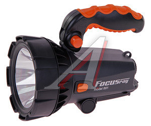 Фонарь аккумуляторный 1 свет-д CREE (пластик) IP64 встроенное з/у 4V700mAh 12V/220V 15см FOCUSray FOCUSray 891, 620445