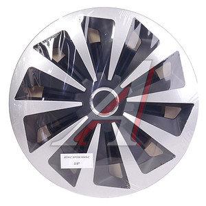 Колпак колеса R-15 декоративный ринг микс черный комплект 4шт. ФОКС ХРОМ МИКС ФОКС ХРОМ МИКС R-15