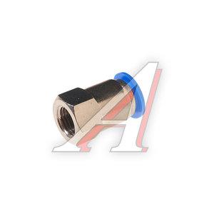 """Фитинг для пластиковых трубок 1/4"""" 12мм с внутренней резьбой ROCK FORCE RF-SPCF12-02"""