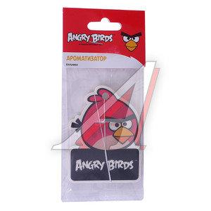 Ароматизатор подвесной пластина (клубника) Red Angry Birds PRIDE 073001, AB001,