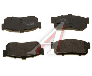 Колодки тормозные NISSAN Almera N15 (95-), N16 (00-), Maxima A32 (95-00) задние (4шт.) NIPPARTS J3611034, GDB3181/GDB3274, 44060-4U090/D4060-4U090/44060-7E690