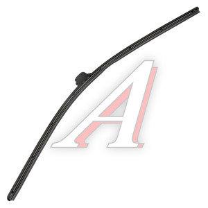 Щетка стеклоочистителя 700мм беcкаркасная (крепление крючок) Super Flat Graphit ALCA AL-058, 058000