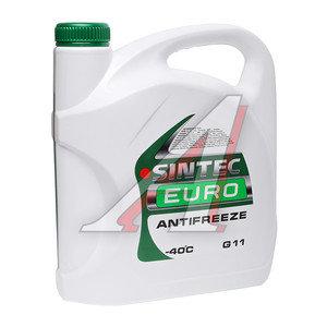 Антифриз зеленый -40С 5кг Euro SINTEC SINTEC