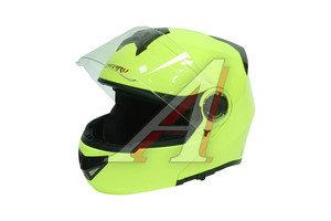 Шлем мото (модуляр) MICHIRU зеленый MF 120 L, 4650066004274