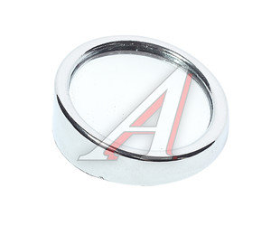 Зеркало дополнительное мертвой зоны сферическое 50мм на липучке серебро DOLLEX BS-056