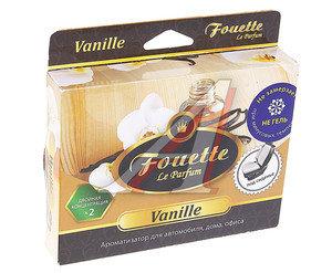 Ароматизатор под сиденье пенополиуретан-пропитка (ваниль) 200мл усиленный FOUETTE F-21
