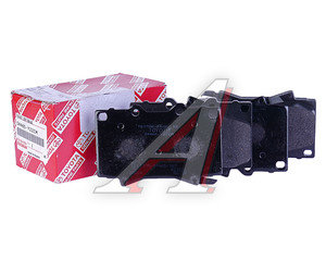 Колодки тормозные TOYOTA Land Cruiser передние (4шт.) OE 04465-YZZCM, GDB3197, 04465-60240/04465-60220/04465-60340/04465-60150