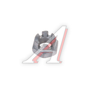 Гайка М12х1.25х12 ВАЗ-2108 прорезная пальца рулевого 2108-3414078,