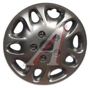 Колпак колеса R-16 декоративный серый комплект 4шт.N88 МЕКАДОР МЕКАДОР R-16 N88