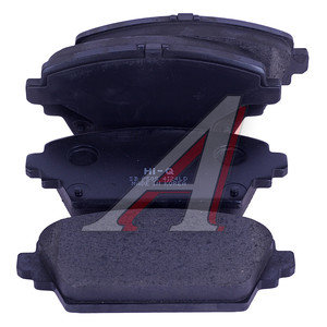 Колодки тормозные NISSAN Primera (P12),Tino,Almera (00-) передние (4шт.) SANGSIN SP1582, GDB3227