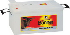 Аккумулятор BANNER Buffalo Bull 140А/ч 6СТ140 640 35, 640 35