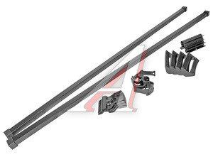 Багажник CHEVROLET Niva (ВАЗ-2123) прямоугольный сталь (пластик) комплект МУРАВЕЙ МУРАВЕЙ L-1400, 690250/694876