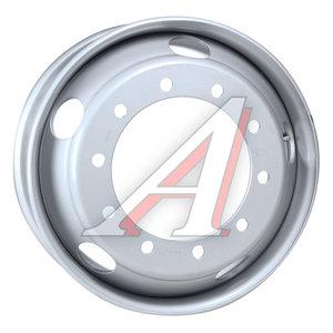 Диск колесный КАМАЗ-ЕВРО,ЛАЗ,ЛИАЗ (8.25х22.5) дисковый ЗАИНСК (MEFRO) 825-3101012 (серебро), 374-3101012, 825-3101012