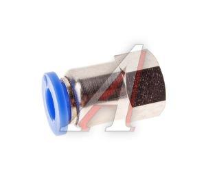 Соединитель трубки ПВХ,полиамид d=6мм (внутренняя резьба) М10х1 прямой PCF M10x1 d=6, АТ-0720,