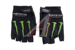 Перчатки велосипедные ладонь-amara+гель MONSTER ENERGY XL