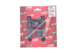 Колодки тормозные мото HONDA CBR600F4i (01-06),CB1300 (SC54) (03-10) передние (2шт.) TRW MCB703