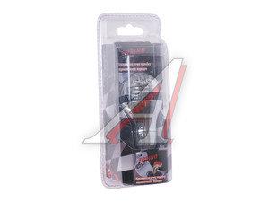 Ручка на рычаг КПП 6854 карбон/хром с подсветкой TORINO 06854, HJ-181C LED