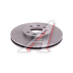 Диск тормозной OPEL Astra G (98-05) передний (1шт.) FENOX TB217372, DF4042, 569059