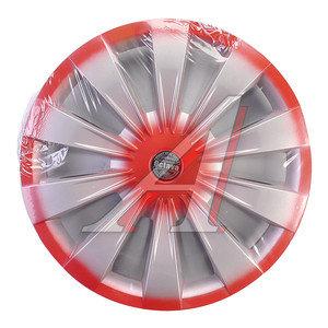 Колпак колеса R-13 декоративный красный комплект 4шт. ОКТАВА ОКТАВА кр R-13,