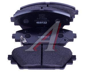 Колодки тормозные MAZDA 3 (13-) передние (4шт.) OE BHY1-33-28ZA, GDB3592