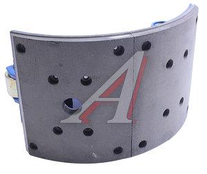 Колодки тормозные МАЗ-5440 (220мм, внутренние с пружиной) (1шт.) АККОР 5440-3502090(91)