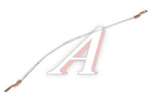 Провод АКБ соединительный перемычка L=650мм S=35мм наконечник-наконечник (медь) D=10мм ПВ103н-650*
