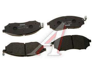 Колодки тормозные NISSAN Pathfinder , Navara (2.5CDI) (R17) передние (4шт.) TEXTAR 2369801, GDB3392, 41060-EB325