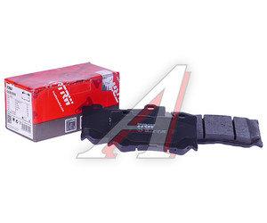 Колодки тормозные INFINITI FX (S51) (08-) передние (4шт.) TRW GDB3505, D1060-JL00A, D1060-JL00B, D1060-JL00K
