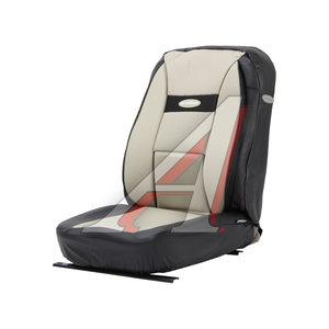 Авточехлы универсальные экокожа (AIRBAG) черные/с.бежевые (6 предм.) Transform Comfort AUTOPROFI TRS/COM-001G BK/L.BE
