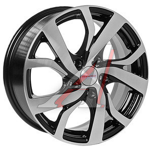 Диск колесный литой VW Golf,Jetta SKODA Octavia 2 R16 Палермо АЧ КС-607 K&K 5х112 ЕТ50 D-57,1