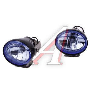 Фара противотуманная NS-27 BLUE (75х55мм) 2шт. SIRIUS NS-27B
