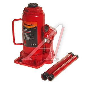 Домкрат бутылочный 10т 200-385мм с клапаном SPARTA 50325