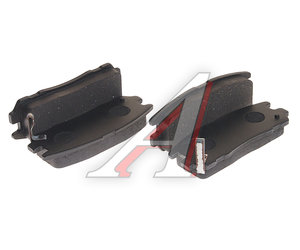 Колодки тормозные GREAT WALL Hover 3 задние (4шт.) OE 3502120-K00, GDB1187