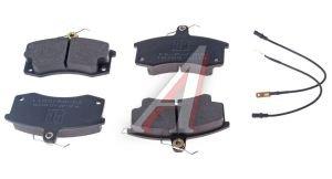 Колодки тормозные ВАЗ-2110 передние (4шт.) PILENGA 2108-3501080, FD-P 2005, 2110-3501080
